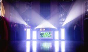 Lichtshow bruiloft